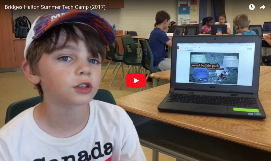 students have fun at TECH camp