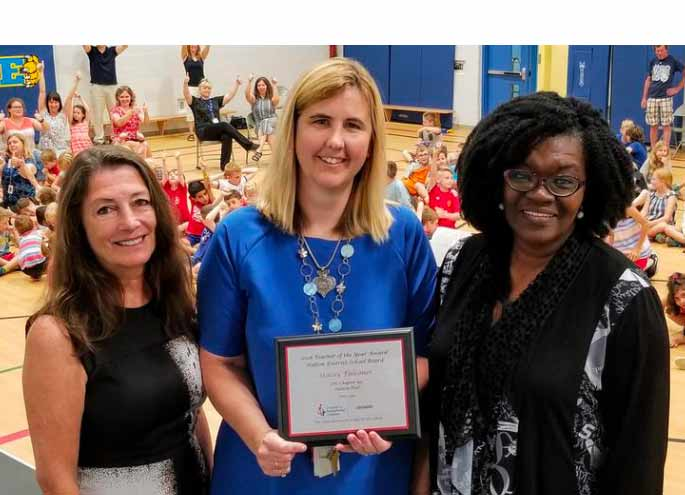2018 Elementary Teacher of the Year Award from the local Ontario Council for Exceptional Children