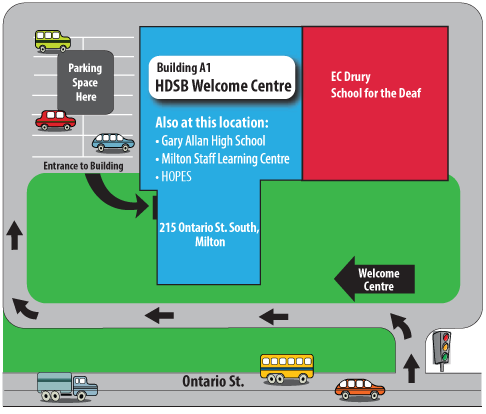 Wlcome Centre Map